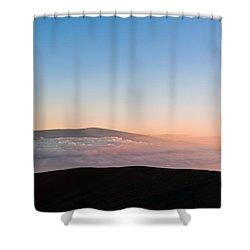 Mauna Loa Sunset Shower Curtain