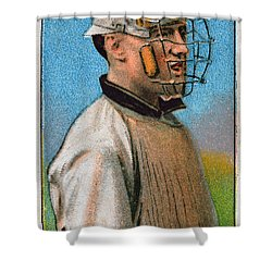Maurice Riley Powers Shower Curtain by Granger