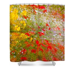 May Impression Shower Curtain by Bobbie Climer