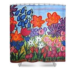Maya's Garden Shower Curtain