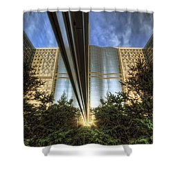 Shower Curtain featuring the photograph Mayo Squared by Tom Gort