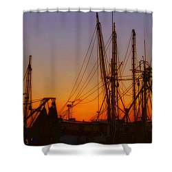 Mayport Shower Curtain by Lydia Holly