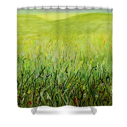 Meadow Four Shower Curtain