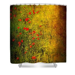 Meadow Shower Curtain by Svetlana Sewell