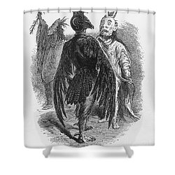 Medicine Men Shower Curtain by Science Source