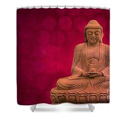 Meditation Shower Curtain by Hannes Cmarits