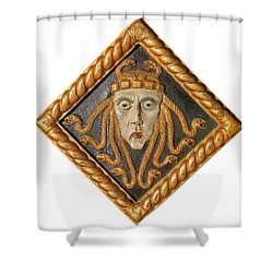 Medusa Shower Curtain by Photo Researchers