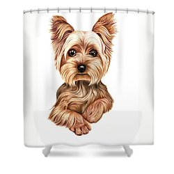 Meet Terry From Yorkshire Shower Curtain by Margaret Sanderson