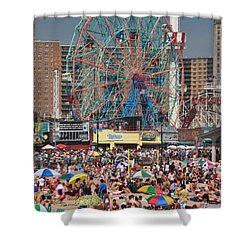 Memorial Day Weekend Shower Curtain by Mark Gilman