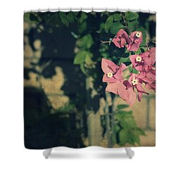Memories Like Fingerprints Shower Curtain by Laurie Search