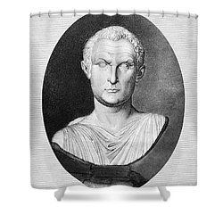 Menander (343-291 B.c.) Shower Curtain by Granger