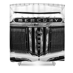 Shower Curtain featuring the photograph Mercury Grill  by Kym Backland