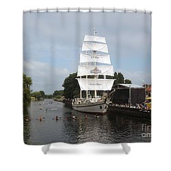 Merdijanas. Klaipeda. Lithuania. Shower Curtain by Ausra Huntington nee Paulauskaite