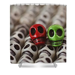 Merry Christmas Shower Curtain by Mike Herdering
