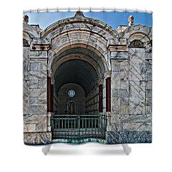 Metairie Cemetery 3 Shower Curtain by Steve Harrington