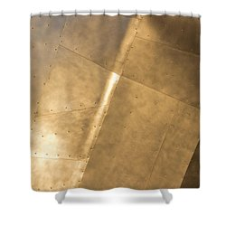 Metal Shower Curtain by Heidi Smith