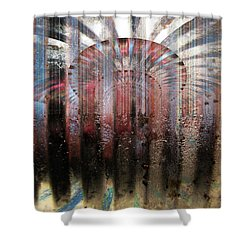 Metal Ray Shower Curtain