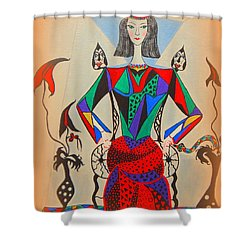 Metamorphosis Of Eleonore Shower Curtain