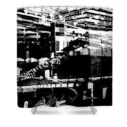 Metropolis Zurich 1 Shower Curtain