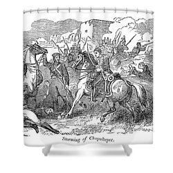 Mexican War: Chapultepec Shower Curtain by Granger