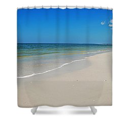 Mexico Beach Shower Curtain by Kay Lovingood
