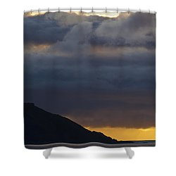 Mid-summer Night Blues Shower Curtain by Heiko Koehrer-Wagner