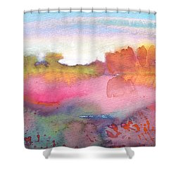 Midday 25 Shower Curtain by Miki De Goodaboom