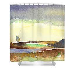 Midday 27 Shower Curtain by Miki De Goodaboom
