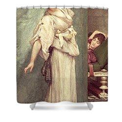Midday Slumbers  Shower Curtain by Sir Lawrence Alma-Tadema