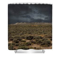 Midnight On The Pairie In Wyoming Shower Curtain