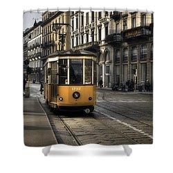 Milan Italy Shower Curtain by Joana Kruse