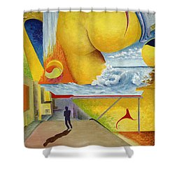 Mingling Among A Common Reverie Part 1 Shower Curtain by Johnny Butler