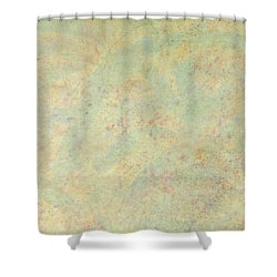 Minimal Number 4 Shower Curtain by James W Johnson