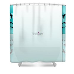 Mint Back Shower Curtain