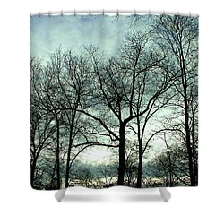 Shower Curtain featuring the photograph Mirage In The Clouds by Pamela Hyde Wilson