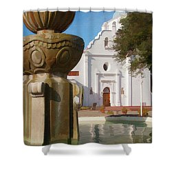 Mission Santa Cruz Shower Curtain