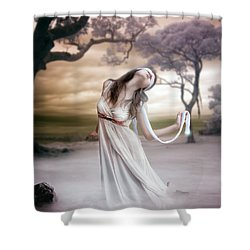 Mistborn Shower Curtain by Mary Hood