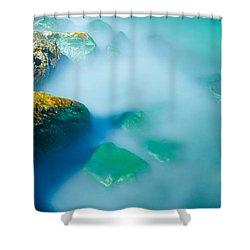 Misty Water Shower Curtain