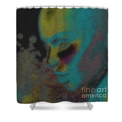 Mixcolor Shower Curtain