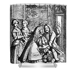 Moliere: Pr�cieuses, 1682 Shower Curtain by Granger