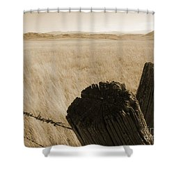 Montana Vista Shower Curtain by Bruce Patrick Smith