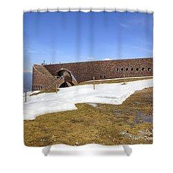 Monte Tamaro Shower Curtain by Joana Kruse