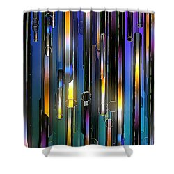 Mood Lighting Shower Curtain by Greg Moores