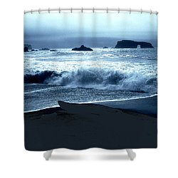 Arch Rock Northern California Coast Shower Curtain