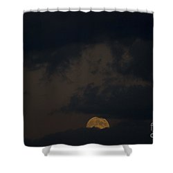 Moon Rising 03 Shower Curtain by Thomas Woolworth