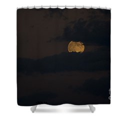 Moon Rising 04 Shower Curtain by Thomas Woolworth