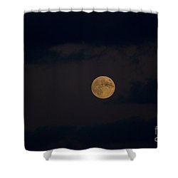 Moon Rising 05 Shower Curtain by Thomas Woolworth