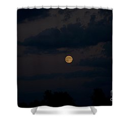 Moon Rising 06 Shower Curtain by Thomas Woolworth