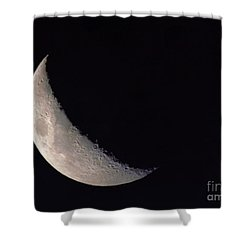Moon Shadow Shower Curtain