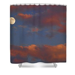 Moon Sunset Shower Curtain by James BO  Insogna